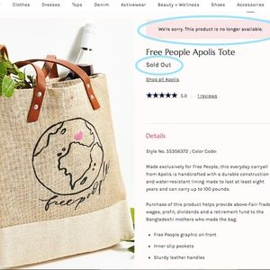 Free People Apolis Tote